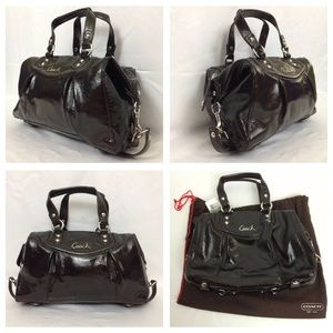 Coach Ashley Satchel with Dust Cover New With Tags